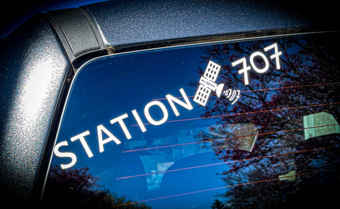 Station707 Vinyl Decal