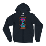 Floating Lanterns Hourglass v3 Zip-Up Hoodie