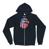1776 Eagle Zip-Up Hoodie
