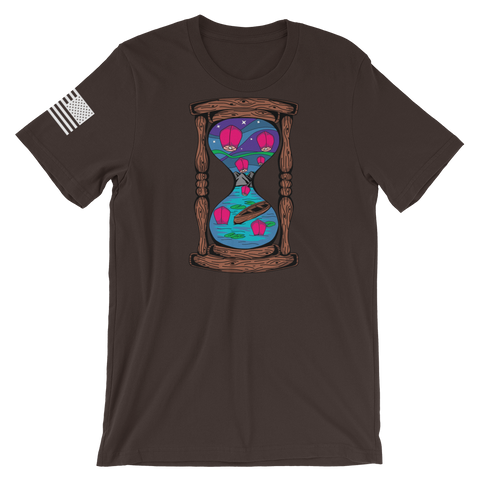 Floating Lanterns Hourglass v3 T-Shirt