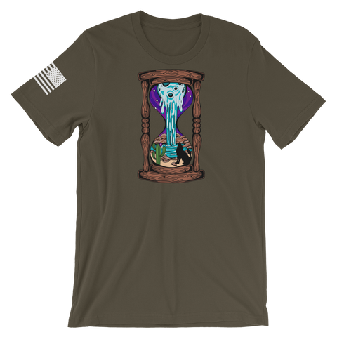 Melting Moon Hourglass v2 T-Shirt