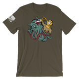 Kraken vs Diver T-Shirt
