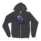 Space Kraken v2 Zip-Up Hoodie