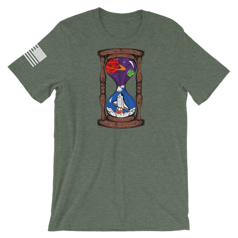 Space Hourglass v1 T-Shirt