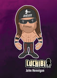 Luchibi Triple Threat Card: John Hennigan (bandana)