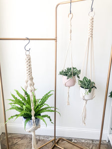 Macrame Plant Hanger by Bonnybee Designs