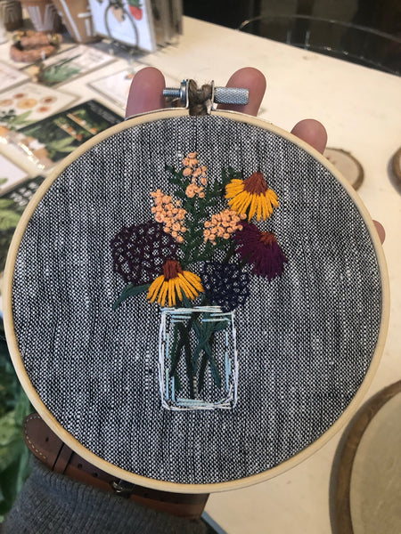 Embroidery / Shawna Ross