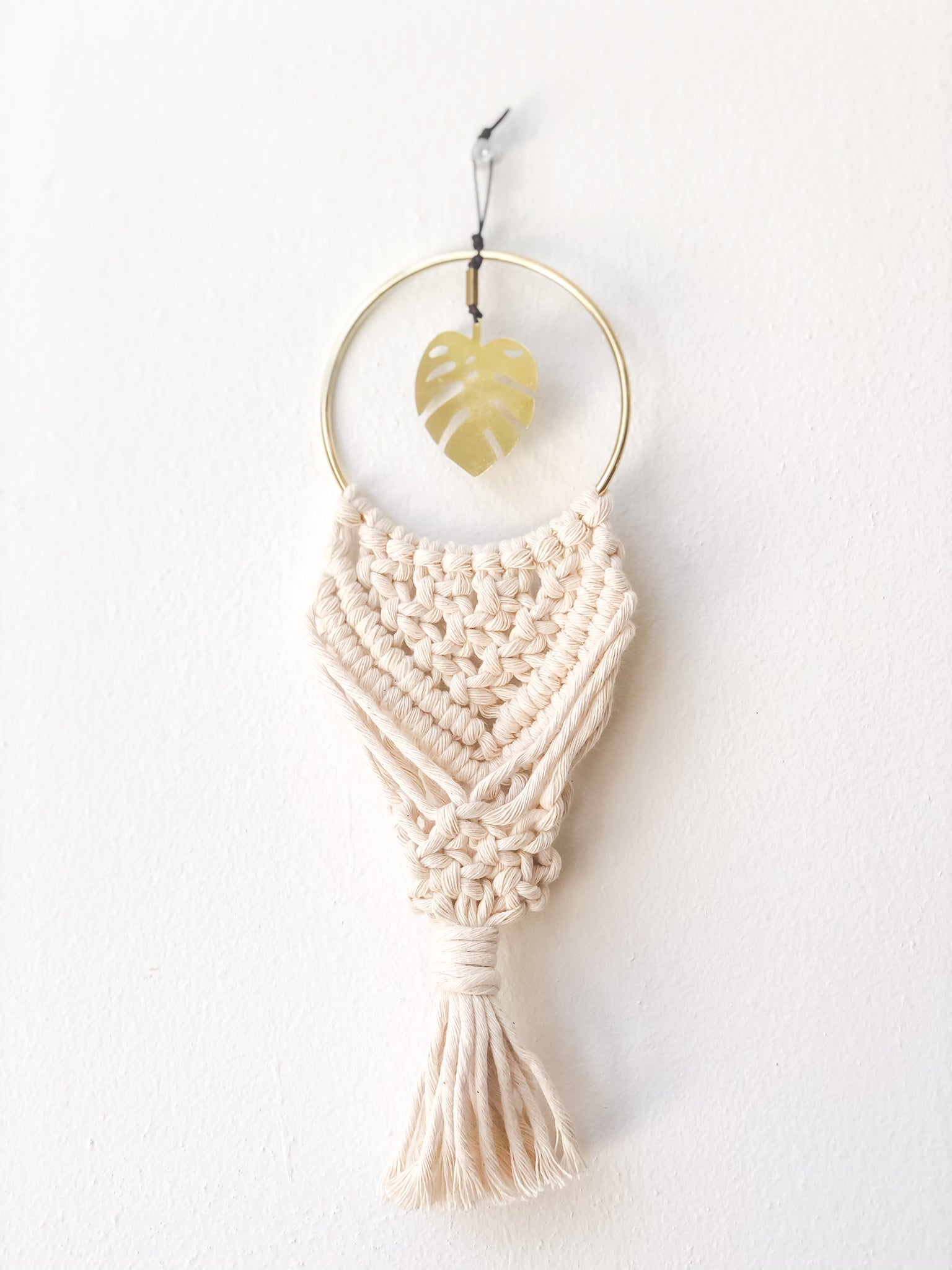 BonnyBee Designs Macrame Air Plant Holder
