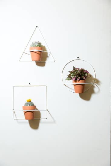 Geo Wall Planters by NewMade LA