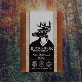 Buck Ridge all natural handmade soaps in forest | Summit Creek Shop