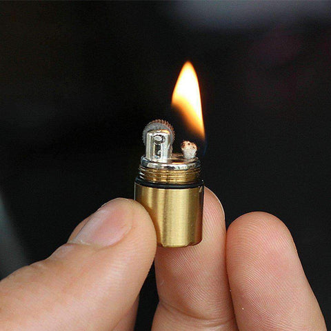 Diablo lighter lit flame fire