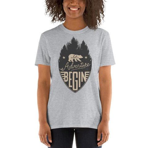 Adventure Begin Unisex T-Shirt - Summit Creek Shop