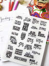 Sisoo Spirit Planner Stickers