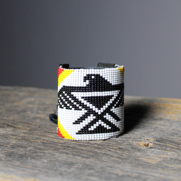 Thunder Bird Beaded Cuff