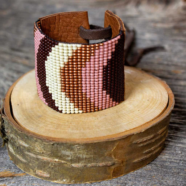 Copper Rose Cuff