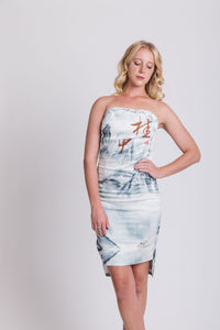 Guilin Chinese painting dress