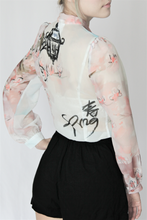 Load image into Gallery viewer, Spring bow blouse