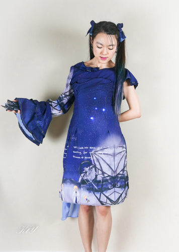 Constellation dress instruction (free for makers)
