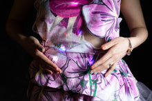 Load image into Gallery viewer, Flowers Heart-Rate Monitoring dress (fabrics and tutorials)