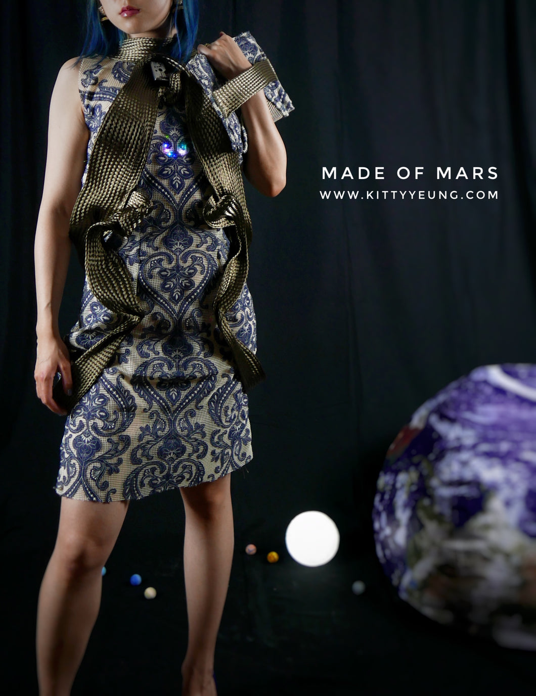 Made of Mars dress tutorial (free for makers)