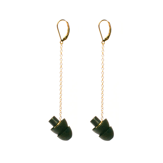 HEARRINGS: earplug earrings you'll never lose