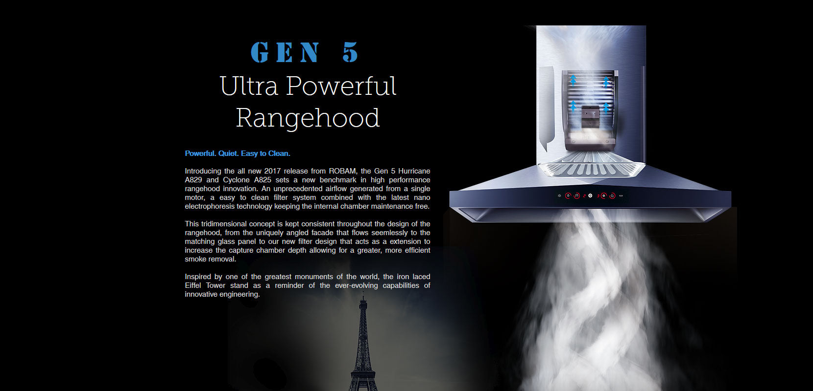 Gen 5 Ultra Powerful Rangehood