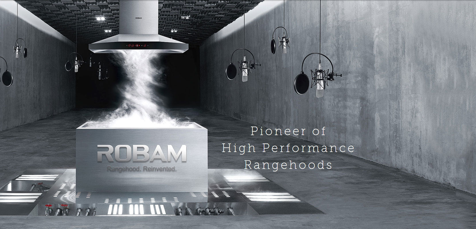 Pioneer of High Performance Rangehoods