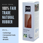 100% Rubber Period Cup - Large