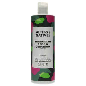 Suma Rose & Geranium Body Wash 400ml