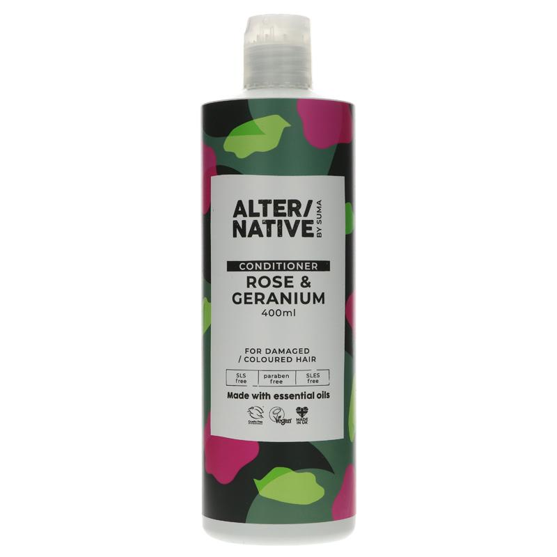 Rose & Geranium Conditioner 400ml