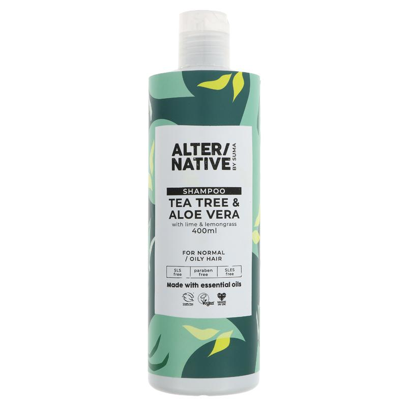 Tea Tree & Aloe Vera Shampoo 400ml