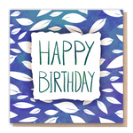 Birthday Leaves Card
