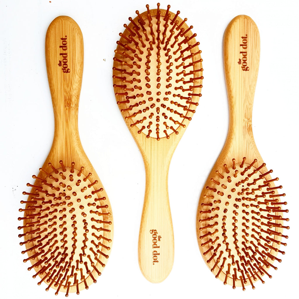 Bamboo Oval Hair Brush