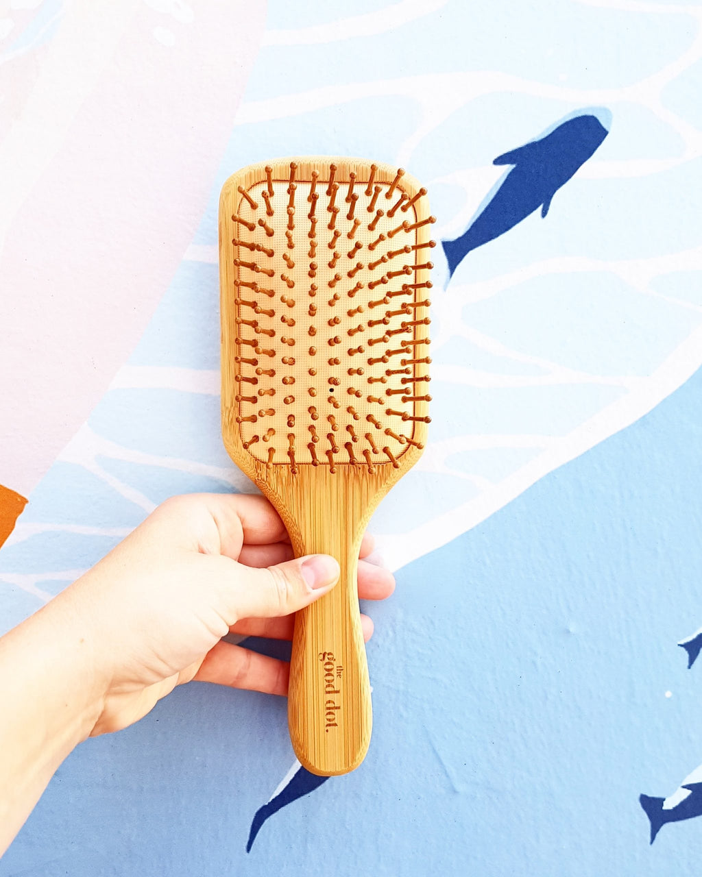 Bamboo Rectangle Hair Brush