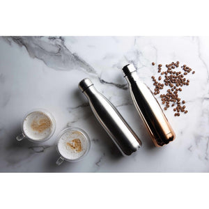 500ml Brushed Stainless Steel Drinks Bottle