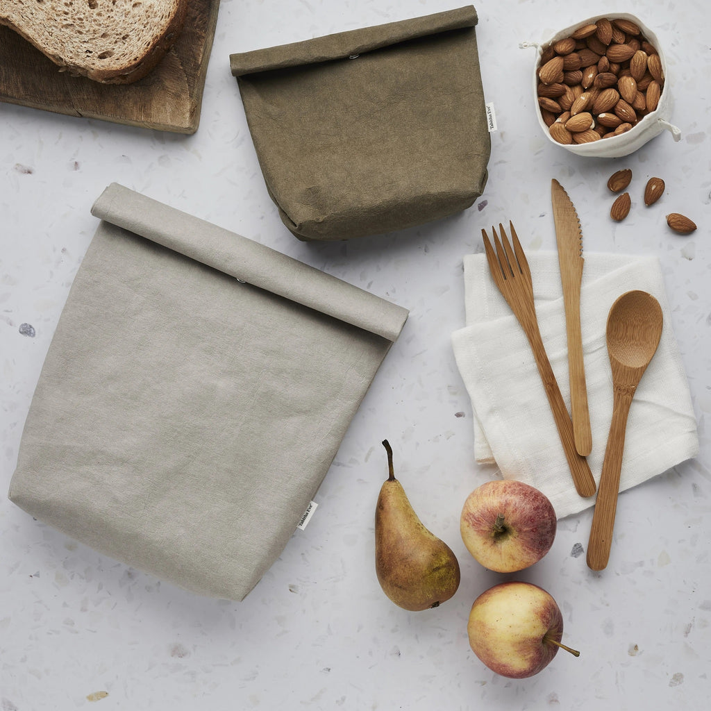 Vegan Leather Snack Bag