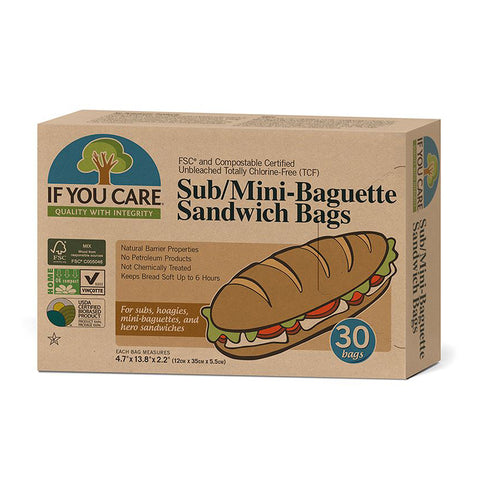 FSC Certified Sub or Mini Baguette Bags - 30