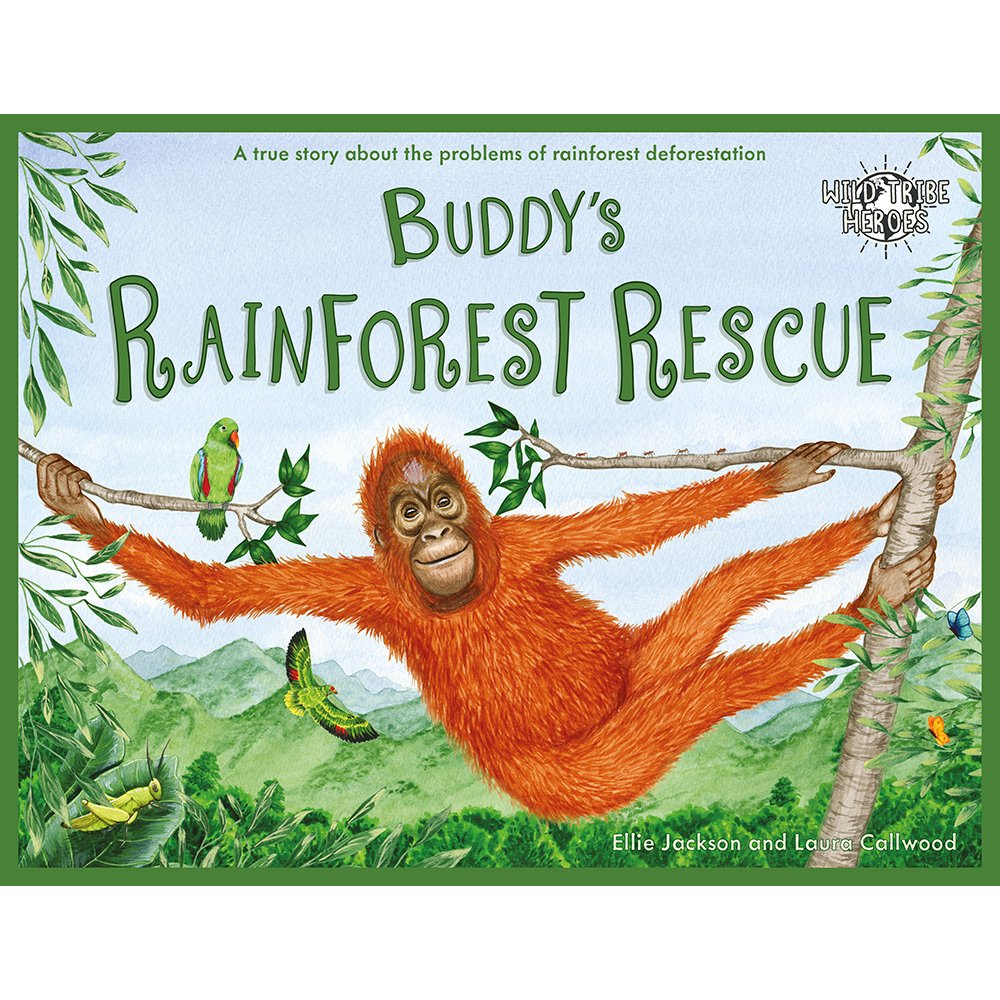 Buddy's Rainforest Rescue - Signed By Author