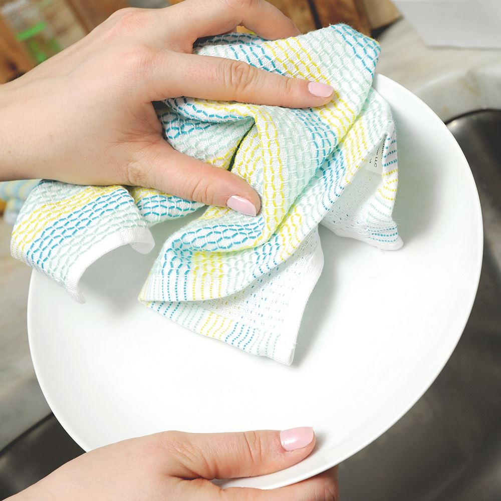 Organic Cotton Dish Cloths - Set of 3