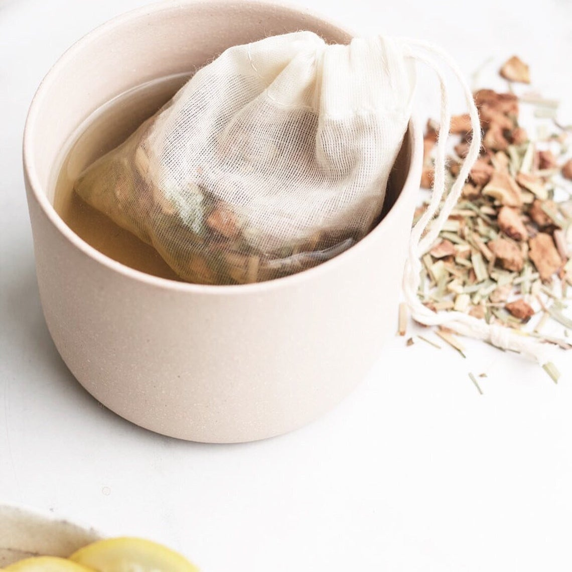 Reusable Organic Cotton Tea Bags