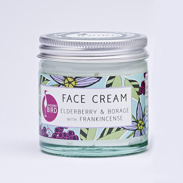 Elderberry & Borage Face Cream with Frankincense 60ml