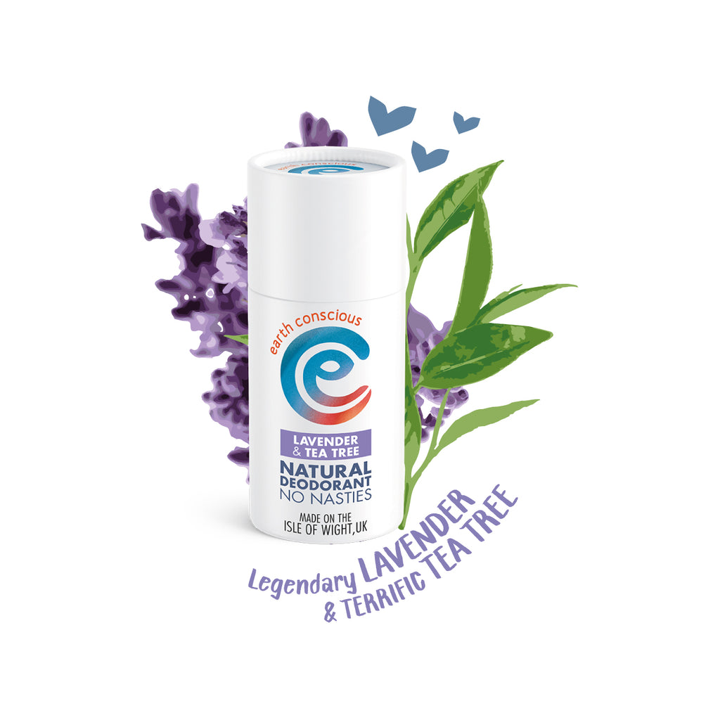 Lavender & Tea Tree Natural Deodorant - Vegan