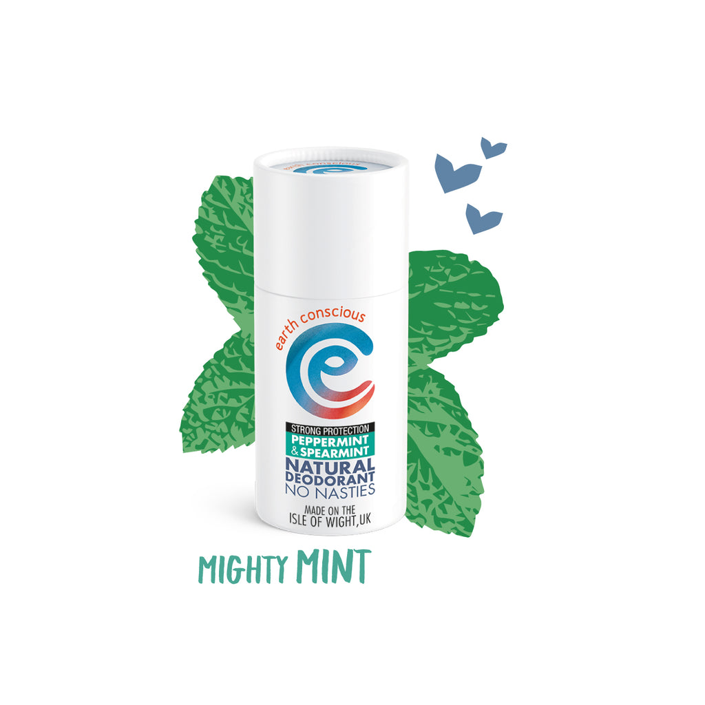 Peppermint & Spearmint Strong Protection Natural Deodorant - Vegan