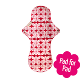 Reusable Natural Organic Night Time Pad
