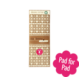 Reusable Natural Organic Day Pad
