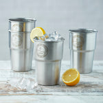 British Stainless Steel Cup - UK Pint (Single Cup)