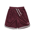 COLOUR WING B BALL SHORTS - MAROON