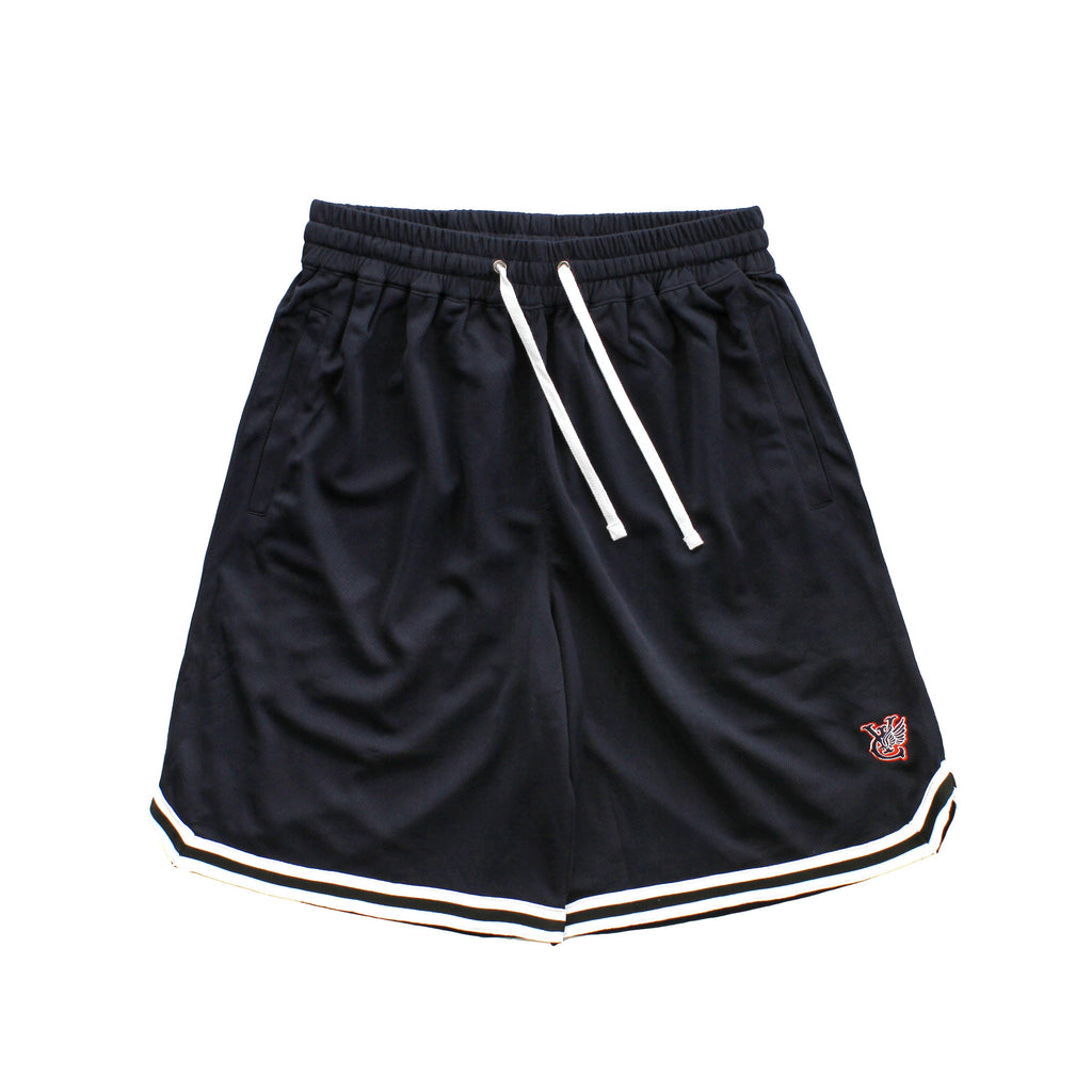 COLOUR WING B BALL SHORTS - NAVY