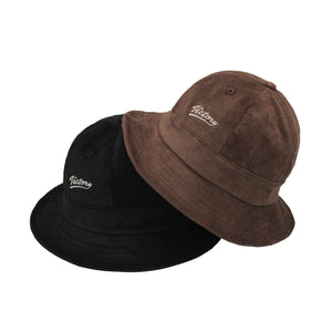 PLAYER CORDUROY BUCKET HAT - BROWN