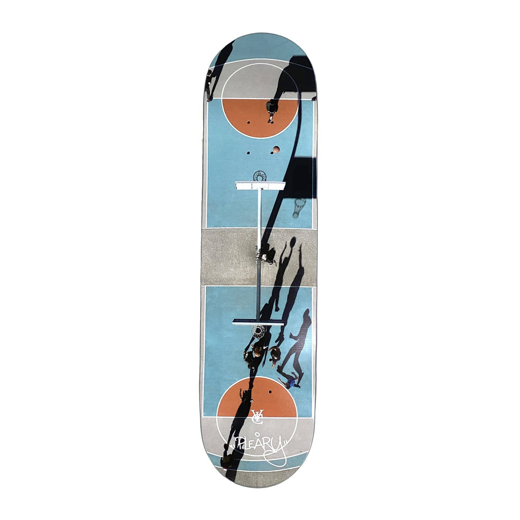 Premium quality skateboard deck by New Zealand skate and streetwear clothing label VIC Apparel. 100% Canadian Maple. VIC x Petra Leary Collaboration